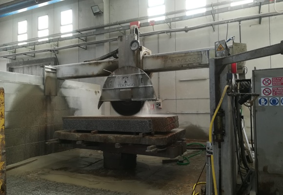 Bridge saw machine Terzago forma N
